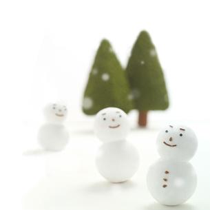 雪ダルマの写真素材 [FYI01949552]