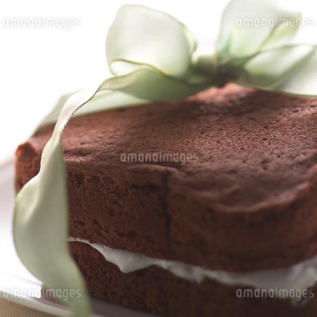 チョコレートケーキの写真素材 [FYI01949741]