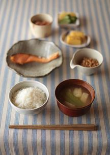 和食の朝食の写真素材 [FYI01949908]