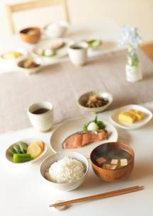 和食の朝食の写真素材 [FYI01949952]