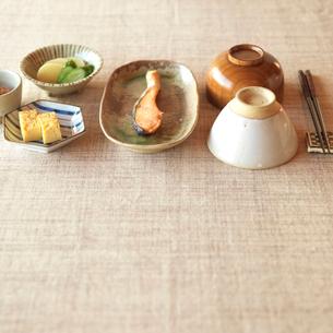 和食の朝食の写真素材 [FYI01950090]