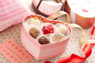 バレンタインチョコレートの写真素材 [FYI01951302]