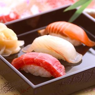 にぎり寿司の写真素材 [FYI01952980]