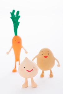 野菜のクラフトの写真素材 [FYI01953152]