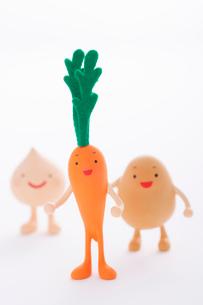 野菜のクラフトの写真素材 [FYI01953414]