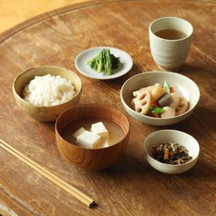 健康を意識した食事の写真素材 [FYI01953842]