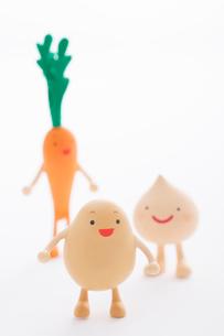 野菜のクラフトの写真素材 [FYI01953925]