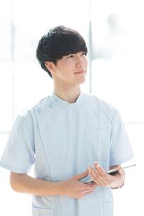 微笑む看護師の写真素材 [FYI01953983]