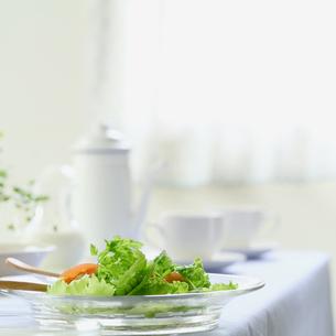 野菜サラダと朝食の写真素材 [FYI01954085]