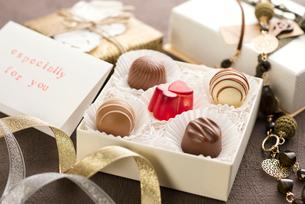 バレンタインチョコレートの写真素材 [FYI01954972]