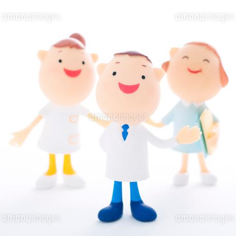 医療福祉イメージのクラフトの写真素材 [FYI01955036]