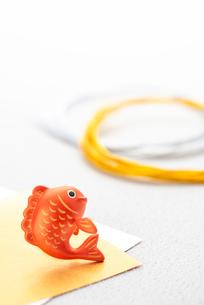 鯛のクラフトと水引のイラスト素材 [FYI01955111]