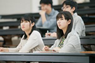 講義を受ける学生の写真素材 [FYI01955386]