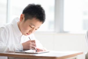 プログラミングの勉強をする小学生の写真素材 [FYI01956876]