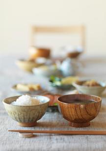 和食の朝食の写真素材 [FYI01956971]