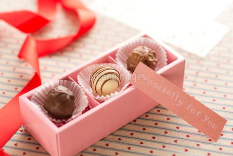 バレンタインチョコレートの写真素材 [FYI01957229]