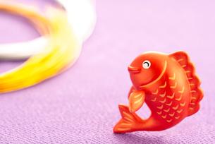 鯛のクラフトと水引のイラスト素材 [FYI01957317]