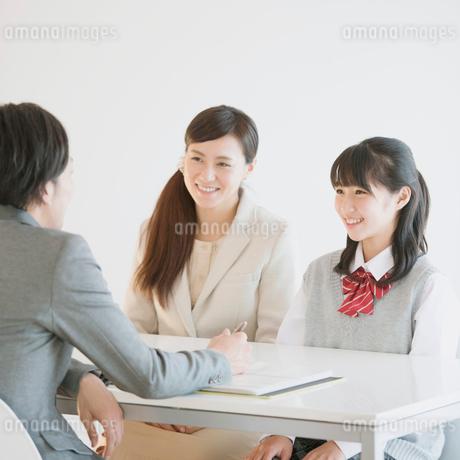 三者面談の写真素材 [FYI01958035]