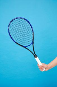 テニスラケットの写真素材 [FYI01961970]