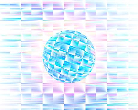 球体イメージ CGのイラスト素材 [FYI01962997]