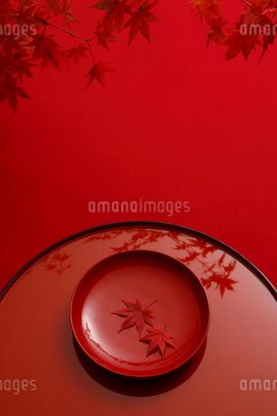 盆と漆器の写真素材 [FYI01963061]