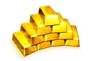 金塊の写真素材 [FYI01963965]