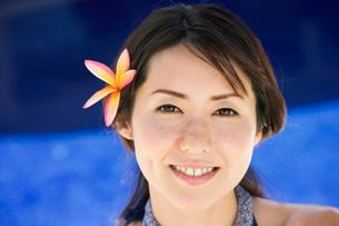 日本人女性ポートレートの写真素材 [FYI01964158]