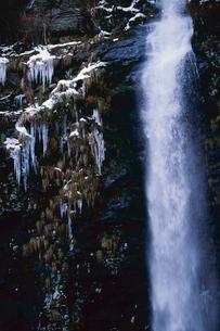 岐阜県 冬の阿弥陀ヶ滝の写真素材 [FYI01966173]