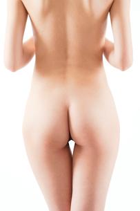 ヌード女性のおしりの写真素材 [FYI01968368]