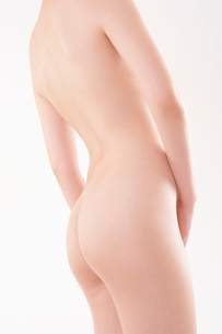 ヌードの日本人女性の写真素材 [FYI01968663]