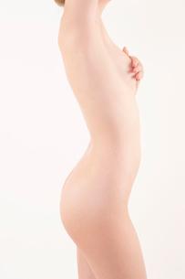 ヌードの日本人女性の写真素材 [FYI01970677]