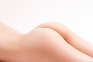 ヌード女性のおしりの写真素材 [FYI01971733]