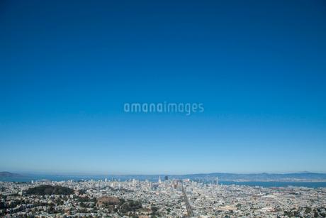 ツインピークスからの遠望 サンフランシスコ アメリカの写真素材 [FYI01973119]