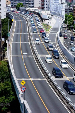 南池袋PA付近の首都高速道路 の写真素材 [FYI01973168]