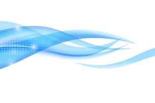 重なり合う曲線のイメージ CGの写真素材 [FYI01973892]
