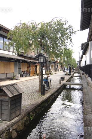 飛騨古川の街並み 岐阜県の写真素材 [FYI01973906]