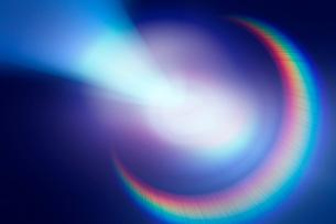 光の反射イメージ CGの写真素材 [FYI01974793]