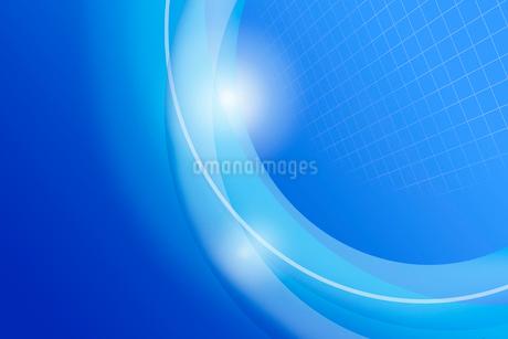光と曲線のイメージ CGの写真素材 [FYI01976250]