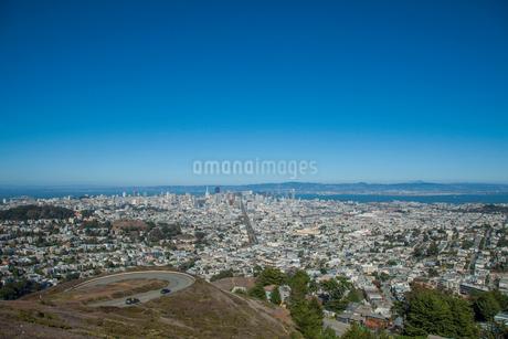 ツインピークスからの遠望 サンフランシスコ アメリカの写真素材 [FYI01976750]