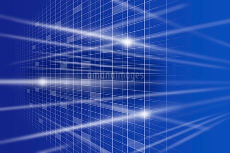 格子模様と光 CGのイラスト素材 [FYI01977539]