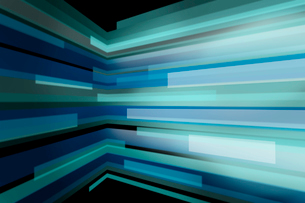 屈折する線の集合 CGのイラスト素材 [FYI01977698]