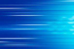 青色と白色の線 CGのイラスト素材 [FYI01977856]