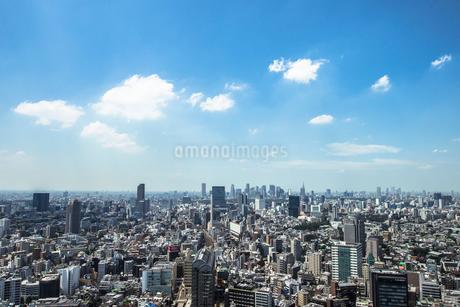 恵比寿駅周辺と渋谷、新宿方面の街並みの写真素材 [FYI01978405]