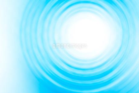 青色の渦と光 CGのイラスト素材 [FYI01978642]
