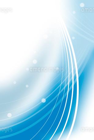 曲線と光 CGのイラスト素材 [FYI01979082]