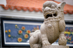 Chinesestyled animal statueの写真素材 [FYI01980703]