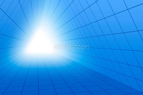 三角形の空間と光 3DCGのイラスト素材 [FYI01980918]