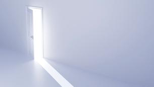 光が差し込む扉 CGのイラスト素材 [FYI01981436]