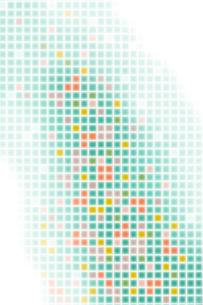 カラフルな格子模様と光 CGのイラスト素材 [FYI01981574]