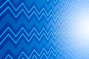 並ぶ山型の線と光 CGのイラスト素材 [FYI01981601]